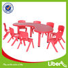 Preschool Plastic Table and Chair set for Kids (LE-ZY006)