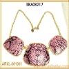 2013 fashion bijoux luxurious necklace snake chain