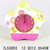 FLOWER wooden gift desk Clock