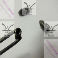 Titanium dental implant instrument for surgical