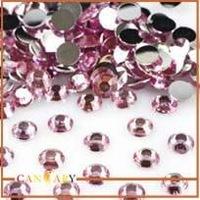 1440 pcs Non Hotfix Round Art Crystal Glass Flat back Rhinestones