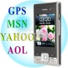 Mobile Phone F029 Wifi TV Java GPS MSN Bluetooth Dual SIM Card GSM Quad band