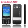 Quad Band Analog TV A200 GSM Mobile Cell Phone Dual SIM Dual Standby