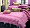 3pcs bedding sets; jacquard bedding set