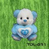 TDL-B31 Plush Cushion Bear  Stuffed Toy