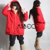 winter garment/ladies' cotton coat/winter coat