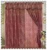jacquard window curtain