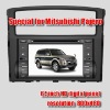 Auto radio for  MITSUBISHI PAJERO car GPS navigation system with DVBT AND TMC