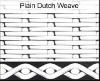 Dutch weave filter cloth/weave filter cloth/stainless steel wire mesh