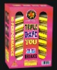 TRIPLE DARE YOU ARTILLERY SHELL-CANISTER & BALL FIREWORKS