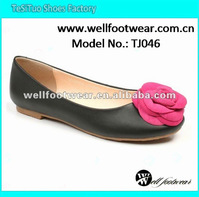 New style rose upper flat wholesale leisure shoes