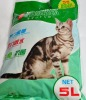 sodium bentonite litter clean cat litter