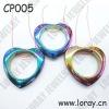 Amazing Hematite Rainbow Colored Pendants for Necklace 2012