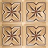 wood inlay floor parquet tile wood parquet flooring LIREN-118