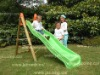 2.2m deluxe slide with wooden frame