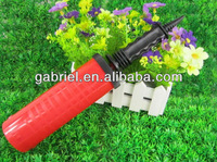 stripe high-volume tow way air pump easy to operation hand pump without glue