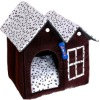 Many kinds of plush cheap dog house,the funny toy for play