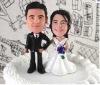 custom couple wedding figure for gift