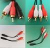 RCA cable audio plug