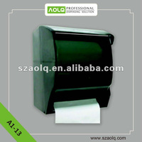 Roll hand tissue dispenser with Anti-theft lock