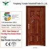 2012 bulletproof steel wooden armor door new design of The Big Five Dubai Show