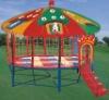 Children Trampoline With Safety Net