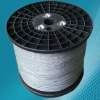 with 8 strands 28GA galvanized metal braid wire