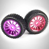 1/8 aluminum rc trolley wheel with brake