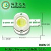 10W led diode 100-120degree white / warm white 2800-7000K USA bridgelux 45mil 100lm/W 32V 350mA and 12V 900mA