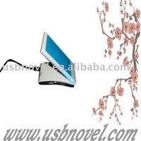 Adjustable mobilephone holder with hub