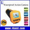 Hotest 2.5 HD CMOS Sensor 20 Meter Waterproof Mini Action Camera