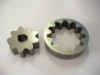 Gear rotors for oil pump of automobiles and motorcycles