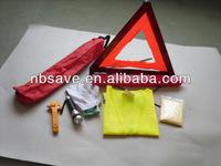 Triangle Safety Kit, Emergency Triangle Kit