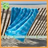 custom print cotton beach towel (100% cotton)