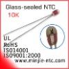 Glass-sealed 10K NTC Thermistor- B25/50:3380K