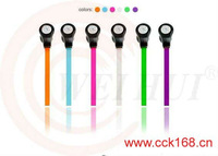 For Mobile Phone/Computer 3.5mm Jack Plug Crystal Stereo Earphone
