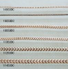 Many sizes copper jewelry chains