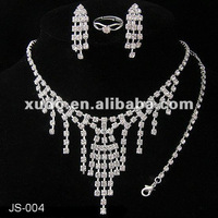 Best price!!! hot sale wedding jewelry set bridal
