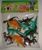 promotional plastic animal world toy for Children