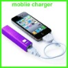 factory price Aluminium Alloy Case portable battery charger