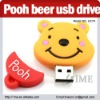 Cartoon pooh bear usb flash drives bulk cheap 2G4G8G16G32G