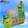 Magic-bowling children amusement game machine