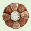 Classic metal wall decorative clock for home