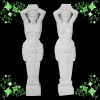 white marble statue column YL-L204