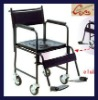 Plastic-sprayed wheelchair with sanitary wares