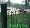 PVC coated wire netting fence
