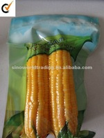 sweet corn with vaccum packing