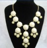 Fashion Jewelry Bubble Bib Statement Necklace