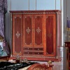 Classic wooden wardrobes