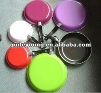 colorful carbon steel nonstick fry pan